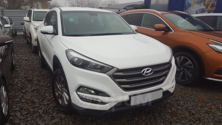 Hyundai Tucson, 2017 год, 1 142 000 руб.