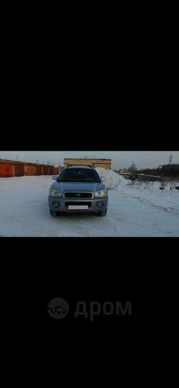 Hyundai Santa Fe, 2002 год, 410 000 руб.
