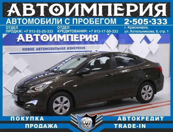 Hyundai Solaris, 2016 год, 563 000 руб.