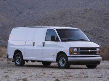 Chevrolet Express 1995, цельнометаллический фургон, 1 поколение