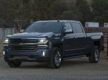 Chevrolet Silverado рестайлинг, 3 поколение, 10.2015 - 09.2019, Пикап