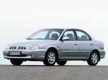 Kia Sephia 1998, седан, 2 поколение