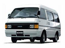 Mazda Bongo рестайлинг 1990, цельнометаллический фургон, 3 поколение