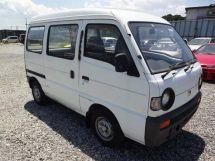 Mazda Scrum 1991, цельнометаллический фургон, 2 поколение, DL51