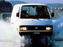 Nissan Urvan 1986, цельнометаллический фургон, 1 поколение, E24
