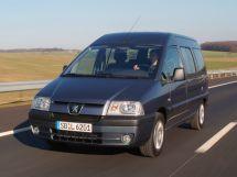 Peugeot Expert рестайлинг 2004, минивэн, 1 поколение