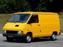 Renault Trafic 1980, цельнометаллический фургон, 1 поколение
