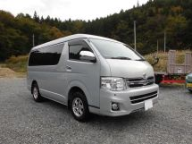 Toyota Hiace 2-й рестайлинг 2010, минивэн, 5 поколение, H200