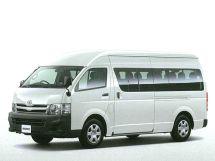 Toyota Hiace 2-й рестайлинг 2010, автобус, 5 поколение, H200