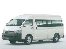Toyota Hiace рестайлинг 2007, автобус, 5 поколение, H200