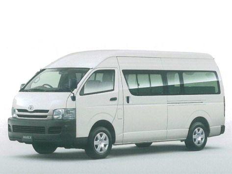 Toyota Hiace (H200) 08.2007 - 06.2010