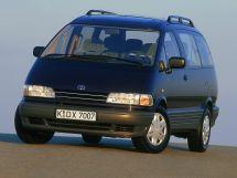 Toyota Previa рестайлинг 1994, минивэн, 1 поколение, XR10