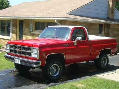 GMC Sierra 1973 - 1987
