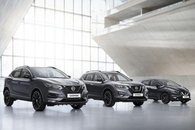 Nissan Qashqai, X-Trail и Micra в новой версии N-Tec получили черный декор и более богатое оснащение