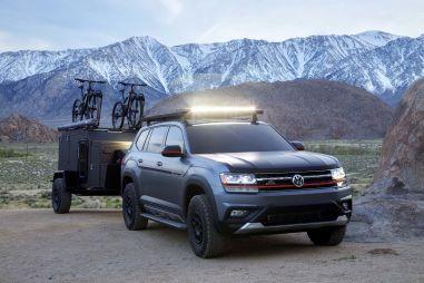 Тюнингованный Volkswagen Atlas Basecamp для серьезного бездорожья может пойти в серию