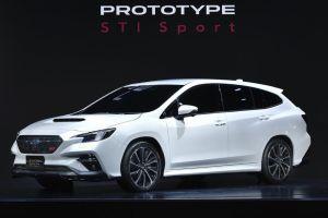 В Токио показали турбированный универсал Subaru Levorg STI Sport