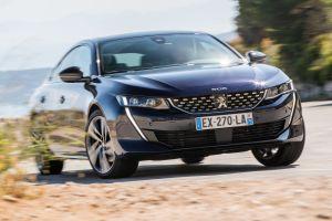 Peugeot запатентовал в России большой лифтбэк 508
