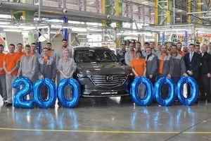 Завод «Мазда Соллерс» во Владивостоке выпустил 200-тысячный автомобиль