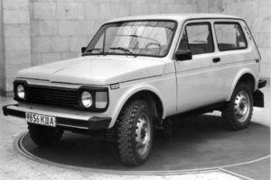 Lada Niva могла получить дизайн передка как у Pajero начала 80-х годов
