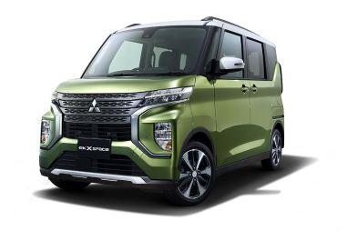 Mitsubishi начала продажи новых eK Space и eK Cross Space