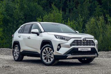 Toyota отзывает в России более 82 тысяч кроссоверов и внедорожников (в т.ч. Lexus)