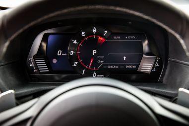 У Toyota Supra своя приборная панель, но разработала ее все равно BMW