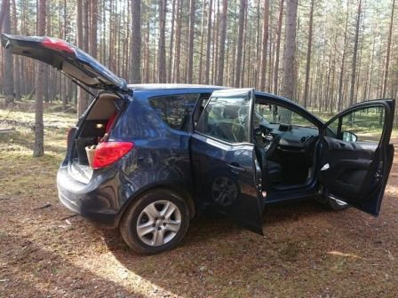 Opel Meriva 2014 - отзыв владельца