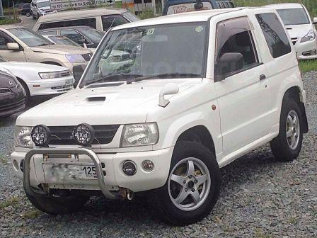 Mitsubishi Pajero Mini 2001 - отзыв владельца