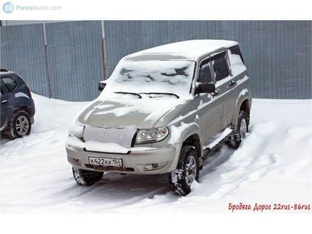 УАЗ Патриот 2010 - отзыв владельца