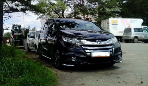 Honda Odyssey 2014 - отзыв владельца