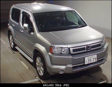 Honda Crossroad, 2009