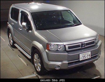 Honda Crossroad 2009 - отзыв владельца