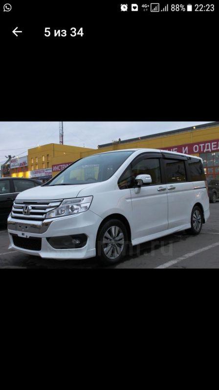 Honda Stepwgn 2013 - отзыв владельца