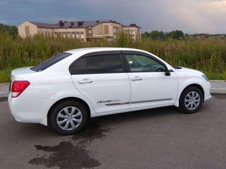 Toyota Corolla Axio 2013 - отзыв владельца
