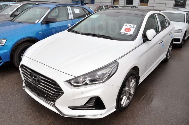 Hyundai Sonata, 2018 год, 2 023 697 руб.