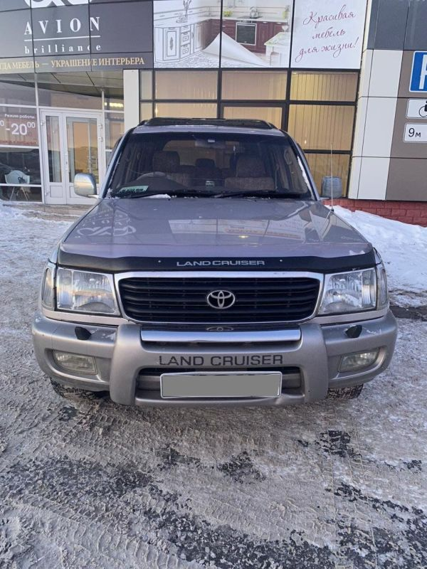 Toyota Land Cruiser, 1998 год, 850 000 руб.