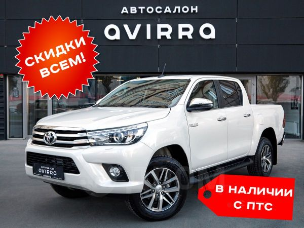 Toyota Hilux Pick Up, 2019 год, 2 497 000 руб.