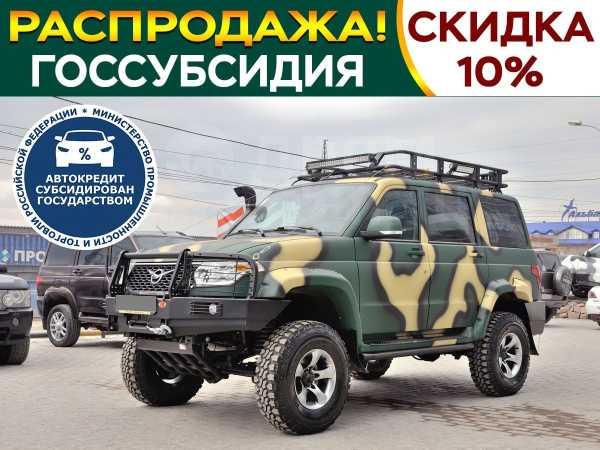 УАЗ Патриот, 2018 год, 1 350 000 руб.