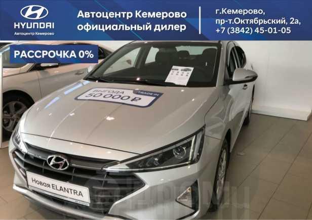 Hyundai Elantra, 2019 год, 1 105 000 руб.