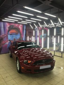 Липецк Ford Mustang 2012