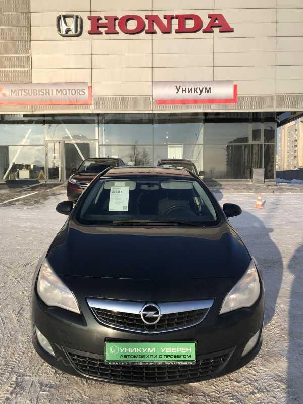 Opel Astra, 2012 год, 438 790 руб.