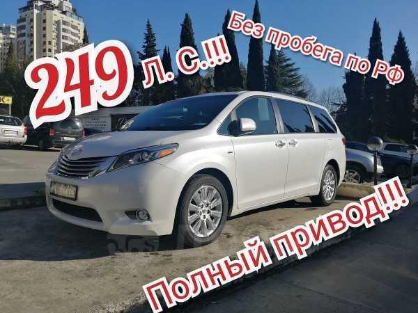 Toyota Sienna, 2016 год, 2 850 000 руб.