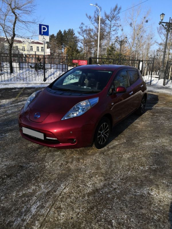 Nissan Leaf, 2011 год, 367 000 руб.