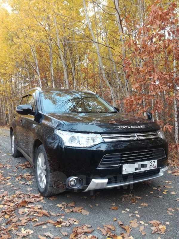 Mitsubishi Outlander, 2014 год, 1 400 000 руб.