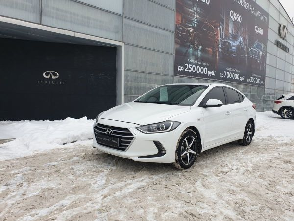 Hyundai Elantra, 2016 год, 729 000 руб.