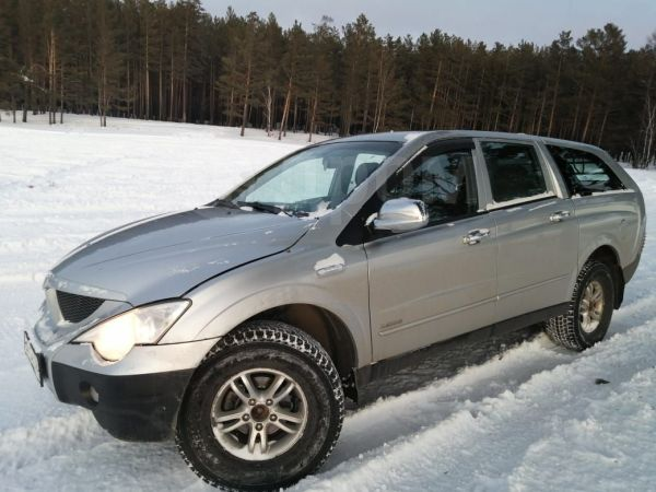 SsangYong Actyon Sports, 2008 год, 395 000 руб.