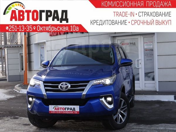 Toyota Fortuner, 2017 год, 2 407 000 руб.