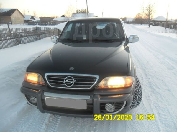 SsangYong Musso, 2002 год, 340 000 руб.