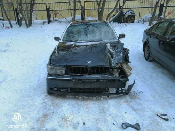 BMW 7-Series, 2002 год, 110 000 руб.