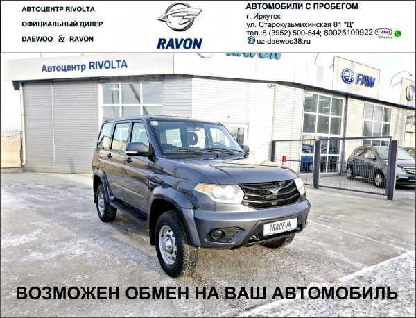 УАЗ Патриот, 2016 год, 555 555 руб.